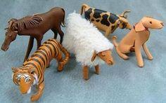 干支 leather animals