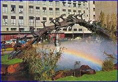 Oppenheimer fountain in Johannesburg city. For visit, hire a car from : www.carrentaljohannesburgairport.com