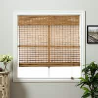 Single Piece Petite Rustique 31 x 74 Inch Length Netural Bamboo Roman Shades Woven Wood EnergyEfficient Window Treatment Light Blocking Oriental Shades Bamboo Material Espresso Chocolate Bamboo Roman Shades, Bathroom Window Treatments, Bamboo Blinds, Woven Blinds, Shades Blinds, Shades Window, Blinds For Windows, Window Blinds, White Houses
