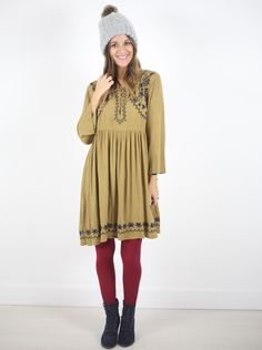 Dottie Embroidered Tunic