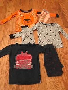 GAP and Children s Place Pajamas - Great Condition - Set of 3 Pairs 0e7a0f4b3