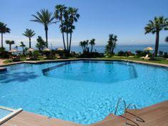 outdoor pool Healthouse Las Dunas*****GL; Estepona-Marbella with ocean view!