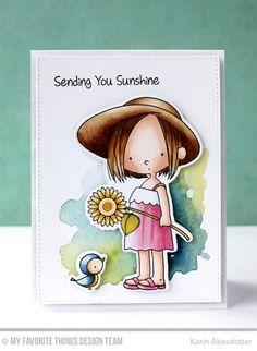 Sunflower Sweetheart, Sunflower Sweetheart Die-namics -Karin Åkesdotter   #mftstamps