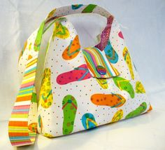 Slouch Purse Messenger Bag Cross Body Colorful by Heart2Handbags, $32.00