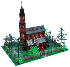 LEGO Gothic Cathedral