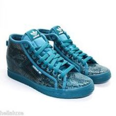 Addidas Wedge Snakeskin Sneakers Used once. Super great condition. True to size. Very comfy. Adidas Shoes Sneakers