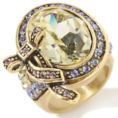 Heidi Daus Cluster Bow-Design Ring at HSN.com.,have it, love it!