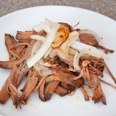 Here is a fast, easy, and flavorful way to cook brisket. You could use it for tacos or just eat it with some sauteed onions like I did. This recipe makes enough to feed probably 6 people. Ingredients: 3 lbs beef brisket 1 small can of chipotle peppers in adobo sauce 1 onion, peeled and cut into …