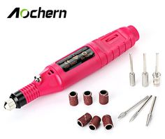 Aochern Nail Drills Electric Acrylic Gel Remover Manicure Machine  Removing Pen Pedicure File Polish Shape Tools Kit EU OR US