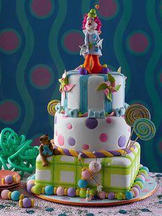 https://flic.kr/p/74ZgNv | Bolo Dia das Crianças (www.djalmareinaldo.com.br) | Bolo Palhaço (Dia das Crianças) que fiz para revista Guia Cake Design, edição número 3. (Foto Antonio Di Ciommo)