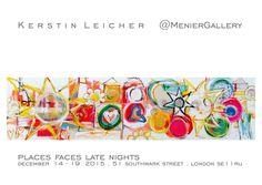 www.kerstin-leicher.com Late Nights, Contemporary Art, December, Free, Painting Art, Partying Hard, Modern Art, Contemporary Artwork