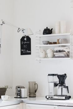 string pocket,artemide tolomeo,mocca master,keittiö,string-hylly