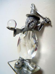 Your place to buy and sell all things handmade Wizard Tattoo, Amazing Shopping, Crystal Ball, Wands, Pewter, 1980s, It Cast, Base, Mirror
