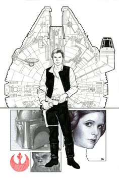 Star Wars #1 by Frank Cho, Cover Variant for Cards, Comics & Collectibles comic shop in Maryland