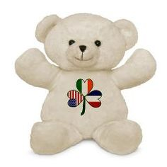 1d3bc7db91f Flags of Nations and Stuff. Personalised Teddy BearsCute ...