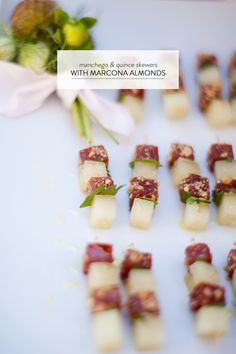 Hailing straight from Hayley at Taste Catering's pantry, these manchego and quince skewers are just a small example of what you'd expect to see on their menu. One part savoury, one part sweet, with just a touch of fancy, these little numbers are sure to be a hit at your next event. And because we kind…
