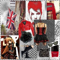London Calling, created by vnasequence on Polyvore