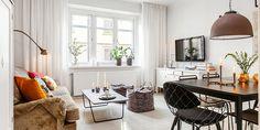 Lundin Fastighetsbyrå...one room living apt. Love it.