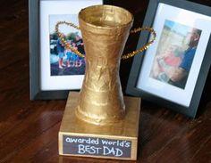 Homemade Best Dad Trophy