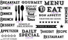 Foodie Fun from Purple Onion Designs