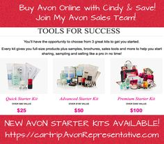 Avon Sales, How To Become, How To Get, Avon Online, Avon Representative, Ads, Sign, Business, Things To Sell