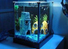 spongebob aquarium !