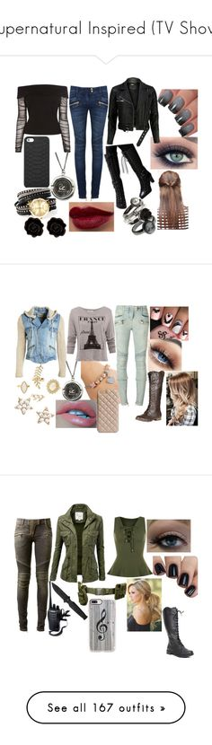 """Supernatural Inspired (TV Show)"" by sophie-swan ❤ liked on Polyvore featuring Coast, Balmain, GiGi New York, FOXCiTY, Collections by Hayley, Fornash, Chicas Fashion, VIPARO, Billabong and Pull&Bear"