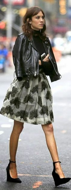 I DRIVE ALOT OF MY FASHION INSPIRATION LATELY FROM ALEXA CHUNG. HER STYLE IS SO UNEXPECTED BUT IT WORKS. SHE IS THAT GRUNGE KINDA GIRL THAT ...