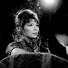 Juliette Gréco in Belphegor directed by Claude Barma, 1965