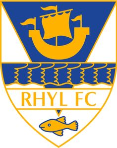 RHYL  FOOTBALL CLUB -  RHYL  wales  old logo