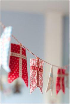 Scandinavian flags bunting