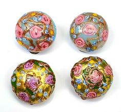 Vintage Buttons Beads Sea Shells Asian Buttons Sewing Fashion Free Shipping Supplies Craft Pink Gold Unique Odd Shapes Sale Free Shipping