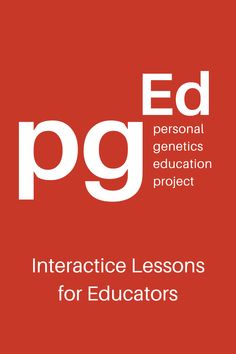 The pgEd program offers interactive lessons for educators to engage students in discussions of ethics and personal genetics. Subjects including biology, health, social studies, physical education, and psychology. All lesson plans contain background reading for teachers and students; classroom activities; discussion points; in some cases, a slide presentation or video clip; and an evaluation. Lessons can stand alone or be taught as a unit. Harvard Medical School, Personal Identity, Student Engagement, Learning Resources, Classroom Activities, Physical Education, Genetics, Social Studies, Biology