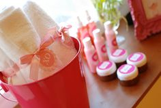 teen party scroll past the volly ball and candy themes to reach the spa themed party