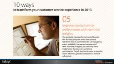 Improve contact center performance with real-time insights Performance Dashboard, Customer Service Experience, Cool Things To Make, Insight, Management, Cool Things To Do