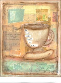 Scripture Art It is well with my soul by artbyerinleigh on Etsy, $18.00