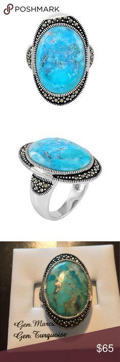 Vintage Israel Pas 925 Silver Real Turquoise Gem Fish Filigree Pin Brooch Discounts Price Fine Diamonds & Gemstones