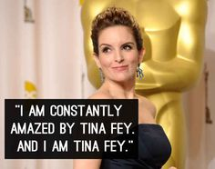 On being Tina Fey: