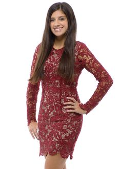 Lace Holiday Dresses