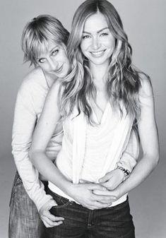 Ellen Degeneres & Portia de Rossi - gotta LOVE these two!
