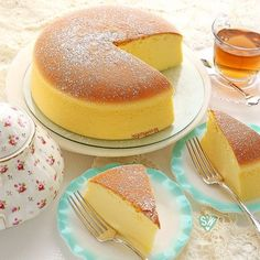 Jiggly Fluffy Japanese Cheesecake Here is what you'll need! Fluffy Jiggly Japanese Cheesecake Servings: Jiggly Fluffy Japanese C… Asian Desserts, Just Desserts, Dessert Recipes, Japanese Cheesecake Recipes, Japanese Fluffy Cheesecake, Cupcake Cakes, Food Cakes, Cupcakes, Japanese Cake