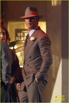 Ryan Gosling Makes AskMen s Top 49 List  Photo Ryan Gosling suits up while  working on Gangster Squad during a late-night shoot on Thursday (October in  Los ... fce4c6fe6d102
