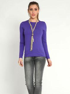 Μπλούζα με στρογγυλή λαιμόκοψη - 5,99 € - http://www.ilovesales.gr/shop/blouza-me-strongyli-lemokopsi-75/