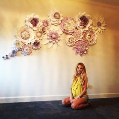 Happy mom-to-be! Balushka is there to help harmonize the room with her paper flower energy!! Emilia, we are all waiting for you to arrive! The room is ready,