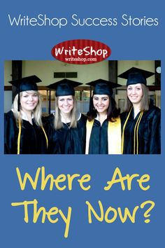 How well does WriteShop curriculum prepare homeschoolers for college and beyond? Here are some WriteShop success stories.