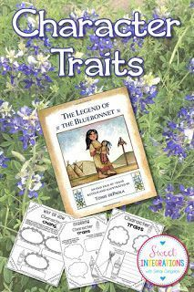Celebrate spring with this mentor text gem. Character change is an important skill for grades 3-5, and this post walks through how to use the book, The Legend of Bluebonnet to teach character traits.