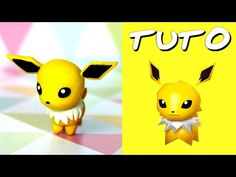 TUTO FIMO | Phyllali / Leafeon (de Pokémon Rumble World) - YouTube