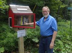 How to Build Your Own Little Free Library: Alan Baker's Little Free Library Plan at Instructables