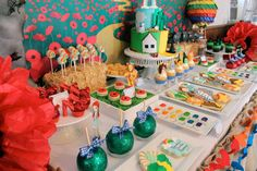 Wizard of Oz Baby Shower Party Ideas | Photo 4 of 36 | Catch My Party
