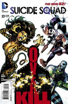Suicide Squad #23 - Slash 'N' Burn (Issue)